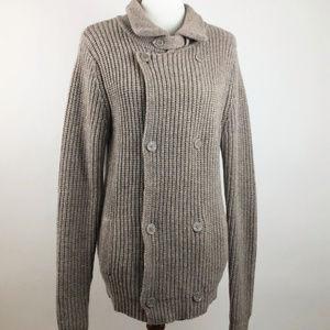 Sundance Lambswool Sweater Jacket